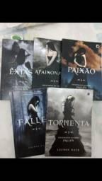 Livros Fallen (venda ou troca)