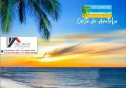Lote na Ilha de Itaparica - Recanto Costa de Aratuba -Lançamento