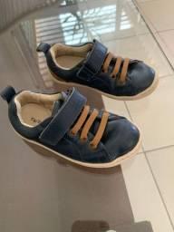 Sapato infantil couro Tip Toey Joey cor marinho tamanho 23