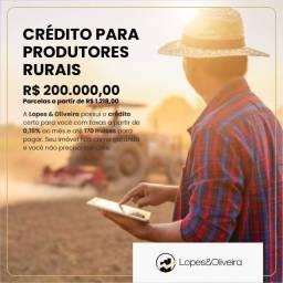 Oportunidade para Produtor Rural!