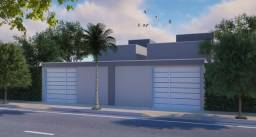 Casa 2 quartos com suíte, não geminadas, acabamento diferenciado