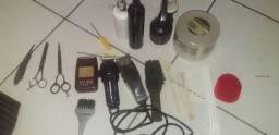 material completo pra barbeiros