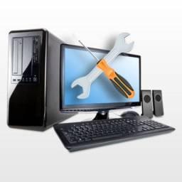 Formatação de computadores.