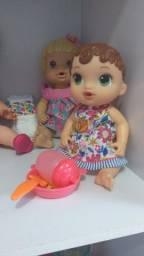 2 bonecas baby alive