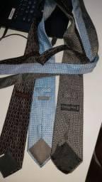 3 gravatas Christian Dior e Mercedes