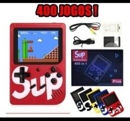 Game sup portátil com 400 jogos