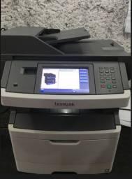 Impressora Lexmark X464 - Semi nova - Linda - com toner e foto no estado!