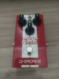 Pedal overdrive fire