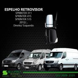 Espelho Retrovisor Sprinter 311/ 415/ 515