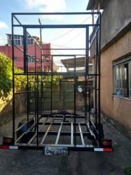 Estrutura para Food Truck ou trailer.