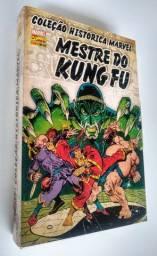 Kit com 4 Hqs do Mestre do Kung Fu
