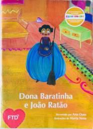 Livro: Dona Baratinha e João Ratão por Ana Oom