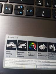 Core i5-ddr4-acer-tela 15.6-ssd-hd 1 tera/potente-home office/ lindo-modelo novo/garantia
