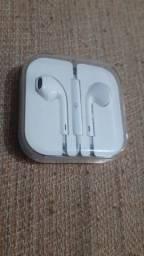 Fone De Ouvido Apple Earpods Mnhf2am/a A1472 Conector 3.5 Mm