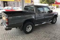 Carro semi-novo>> mitsubishi L200 cinza manual ano/2000