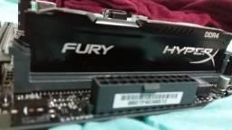 Kit placa mãe Asus + processador I3 7100 3.98gz + dd4 4GB