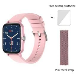 Título do anúncio: Smartwatch Colmi P8 Plus + Pulseira Milanesa + Pelicula