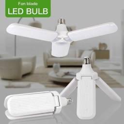 Título do anúncio: Novidades !! Lâmpada Led Hélice 45w Dobrável Ajustável Tripla Luz Branca