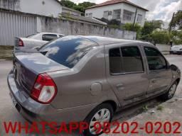 Clio Sedan 2007 Completo Revisado 2 mil + 48x 499
