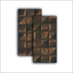 Título do anúncio: Porcelanato Rodin Shadow Corten 45x90 R$ 119,90m² > Amo Casa Acabamentos