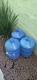 03 Galões - Vasilhame 20lts de água dentro do prazo de validade