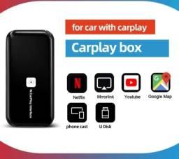 Lançamento Interface Carplay Sem Fio com Projetor Vídeos Netflix Youtube