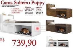 Título do anúncio: Cama Solteiro Puppy/ Frete à consultar.