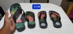 Sandálias da Reserva tamanhos 37/38 e 39/40