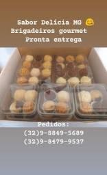 Vendemos brigadeiros gourmet, bolos, amanteigados, cones trufados, entre outros