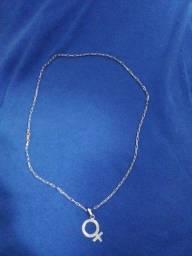 Cordão de prata 100 reais