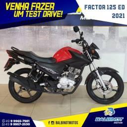 Título do anúncio: Factor 125 ED 2021 Vermelha