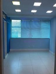 Título do anúncio: Sala para alugar, 48 m² por R$ 2.400,00/mês - Gonzaga - Santos/SP