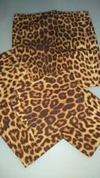 Título do anúncio: Kit 6 capas de almofadas onça