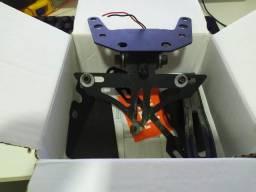Eliminador Rabeta Moto Ninja Completo Pisca Articulado