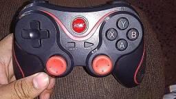 Gaming Controlador Pad 2.4g Suporte Receptor T3 Sem Fio Bluetooth Gamepad Joystick