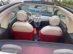 FIAT 500 Conversível (CABRiO), com manual e chave reserva tabela fipe.