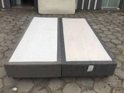 Base box queen com colchão