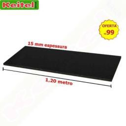Título do anúncio: Tampo 120 cm Preto Fechado Com 15 mm