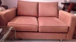 Sofa sofisticado, acolchoado