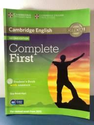 Livro Complete First - Cambridge English