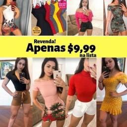 Compre no Atacado e Revenda no Varejo!Roupas, Femininas, Masculinas, Langerie e muito +.