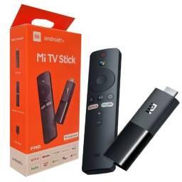 Título do anúncio: Xiaomi Mi TV Stick MDZ-24-AA de voz Full HD 8GB preto com 1GB de memória RAM