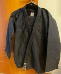 Kimono shizen ninja preto reforçado