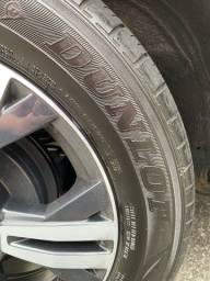 4 Pneus Dunlop meia vida 185/ 60 R15
