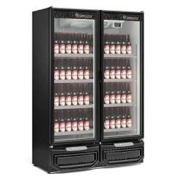 Cervejeira porta de vidro 2 portas - JM equipamentos BC