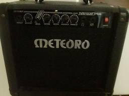 Título do anúncio: Amplificador de som Meteoro 30 W, pouco usado
