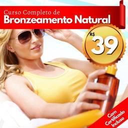 Título do anúncio: Curso online de bronzeado natural