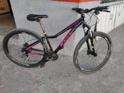 Bicicleta Aro 29  24 marchas freios hidráulicos