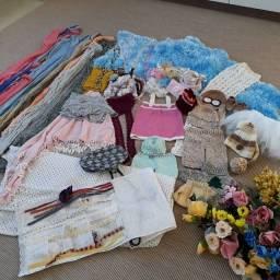 Desapego! Acessórios p foto recém-nascido (newborn) roupas, enfeites, envoltórios, pérolas