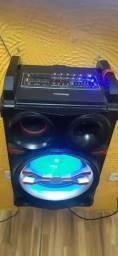 Caixa de som Amplificada mondial 800w